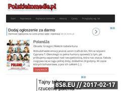 Miniaturka www.polskiekomedie.pl (Polskie filmy)