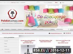 Miniaturka domeny www.polskielampy.com