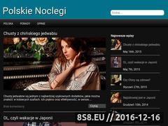Miniaturka domeny www.polskienoclegi.info