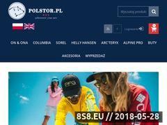 Miniaturka www.polstor.pl (Odzież sportowa i turystyczna)