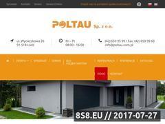 Miniaturka poltau.com.pl (Automaty do bram Łódź)