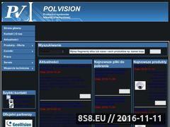 Miniaturka domeny www.polvision.com.pl