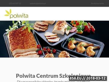 Zrzut strony Szkolenia Warszawa-