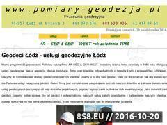 Miniaturka domeny www.pomiary-geodezja.pl