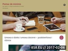 Miniaturka domeny pomoc-deminimis.pl