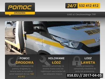 Zrzut strony Pomoc drogowa Łódź - laweta, holowanie - 532 412 412