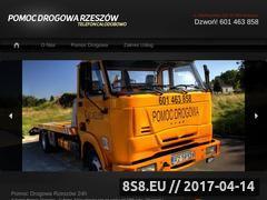 Miniaturka domeny www.pomoc-drogowa-rzeszow.pl
