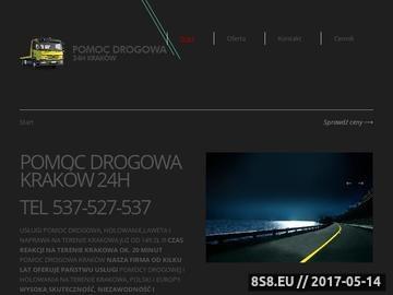 Zrzut strony Pomoc Drogowa Kraków