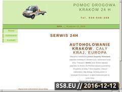 Miniaturka domeny www.pomocdrogowa.biz.pl