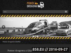 Miniaturka pomocdrogowa.gdansk.pl (Pomoc drogowa - laweta na terenie Gdańska)