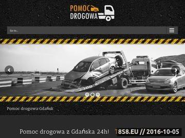 Zrzut strony Pomoc drogowa - Laweta - auto holowanie Gdańsk