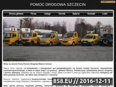 Miniaturka domeny www.pomocdrogowa.i-szczecin.pl