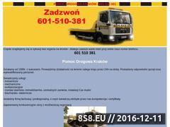 Miniaturka domeny www.pomocdrogowa24h.com.pl