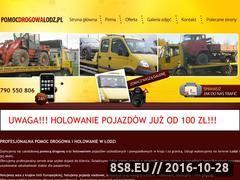 Miniaturka domeny www.pomocdrogowalodz.pl