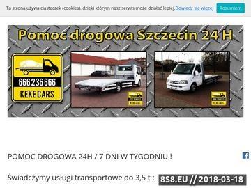 Zrzut strony Pomoc drogowa szczecin