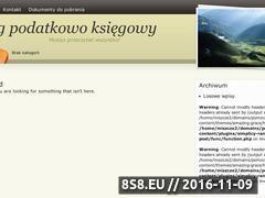 Miniaturka domeny pomocnaksiegowa.bytom.pl