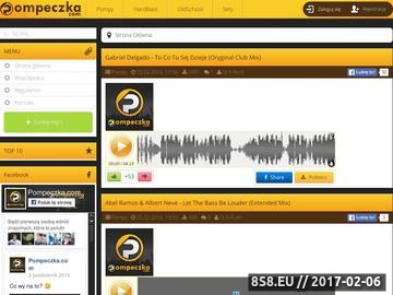 Zrzut strony Pompeczka.com - największe pierdolnięcie w sieci!