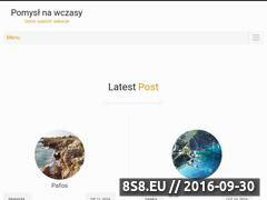 Miniaturka pomyslnawczasy.pl (Ciekawe propozycje na wakacje)