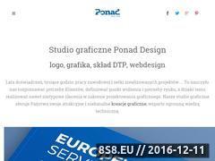 Miniaturka domeny www.ponad.pl