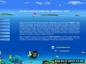 Zrzut strony Nurkowanie Hurghada