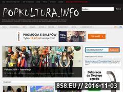Miniaturka popkultura.info (Portal kulturalny)