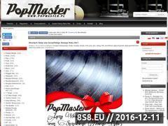 Miniaturka www.popmaster.pl (Sklep online z winylami - PopMaster.pl)