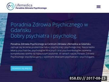 Zrzut strony Poradnia zdrowia psychicznego W Gdańsku - zdrowie psychiczne