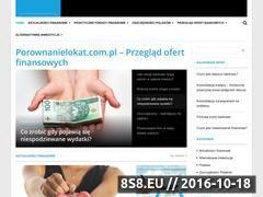Miniaturka domeny www.porownanielokat.com.pl