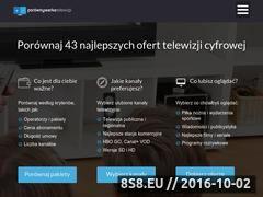 Miniaturka porownywarkatelewizji.pl (Porównywarka Telewizji)