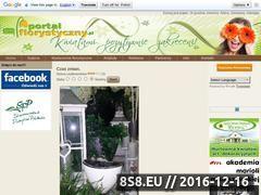 Miniaturka domeny www.portalflorystyczny.pl