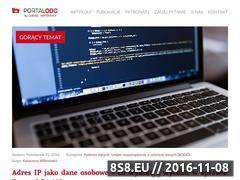 Miniaturka www.portalodo.com (Prawo ochrony danych osobowych)