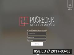 Miniaturka domeny www.posredniknieruchomosci.pl