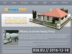 Miniaturka domeny power-tynk.pl
