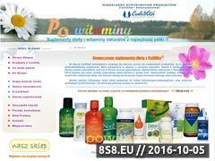 Miniaturka domeny www.powitaminy.pl
