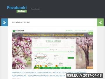 Zrzut strony Blog - pożyczki pozabankowe