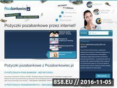 Miniaturka domeny pozabankowiec.pl