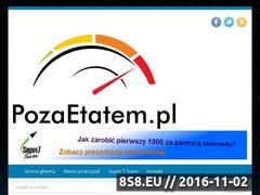 Miniaturka domeny pozaetatem.pl