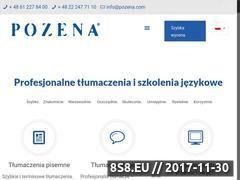 Miniaturka pozena.com (Tłumaczenia finansowe)