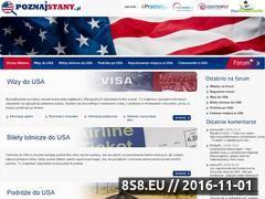 Miniaturka USA niezbędne informacje (www.poznajstany.pl)