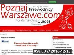 Miniaturka domeny www.poznajwarszawe.com