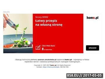 Zrzut strony Restauracje w Poznaniu