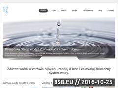 Miniaturka domeny poznanskastacjawody.pl