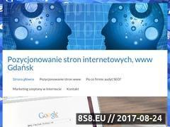 Miniaturka pozycjonowanie-gdansk.com.pl (Pozycjonowanie stron Gdańsk)