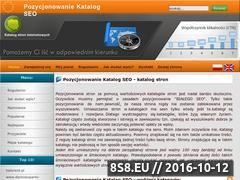 Miniaturka domeny www.pozycjonowanie-katalog-seo.pl
