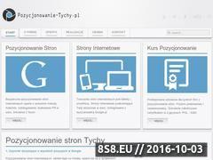 Miniaturka domeny pozycjonowanie-tychy.pl