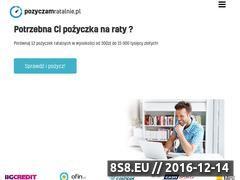 Miniaturka domeny pozyczamratalnie.pl