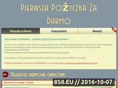 Miniaturka domeny pozyczkazadarmo.net.pl
