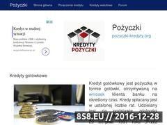 Miniaturka domeny pozyczki-kredyty.org