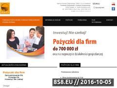 Miniaturka pozyczki.ares.suwalki.pl (Informacje o Funduszach Pożyczkowych)