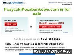 Miniaturka domeny www.pozyczkipozabankowe.com
